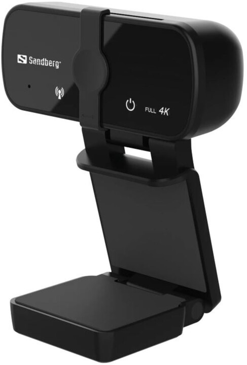 Sandberg USB Webcam Pro+ 4K, černá