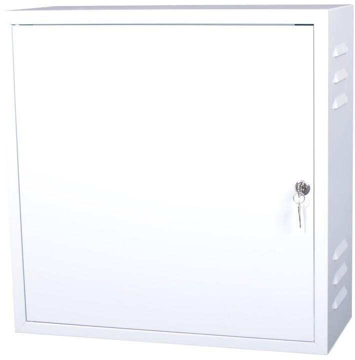 Masterlan nástěnný, 500x500x200, plechová, uzamykatelná, IP20