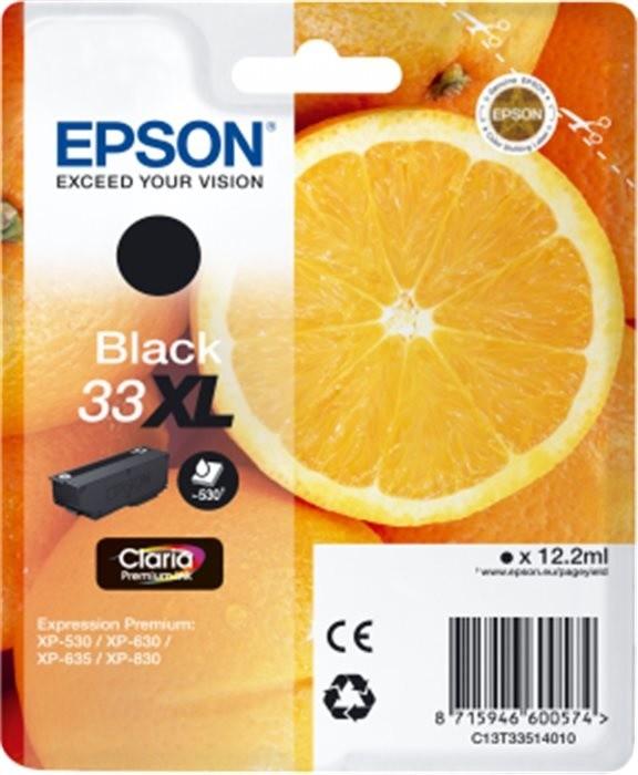 Epson C13T33514010, XL, černá