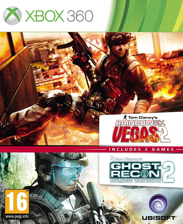 Ghost Recon: Advance Warfighter 2 and Rainbow 6 Vegas 2 - X360