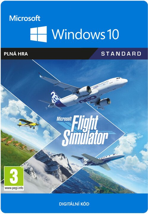 Microsoft Flight Simulator (PC) - elektronicky