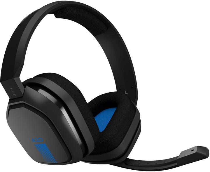 Astro A10, šedá/modrá