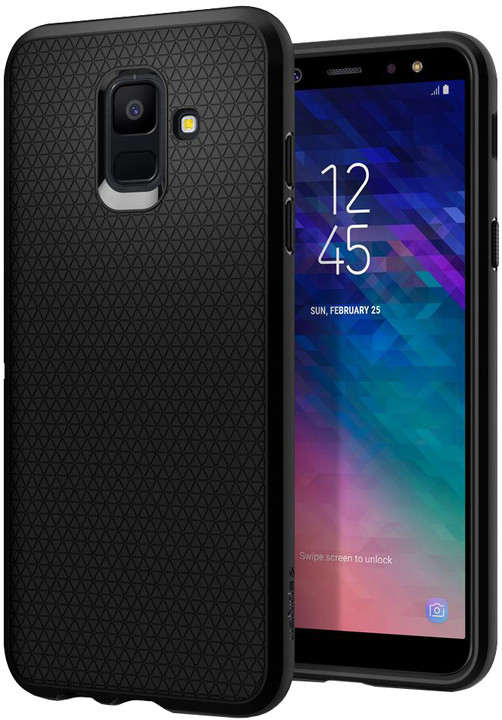 Spigen Liquid Air - Galaxy A6, black