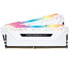 Corsair Vengeance RGB PRO 32GB (2x16GB) DDR4 3200, bílá CL 16 CMW32GX4M2C3200C16W