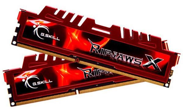 G.SKill RipjawsX 4GB (2x2GB) DDR3 1600 CL9