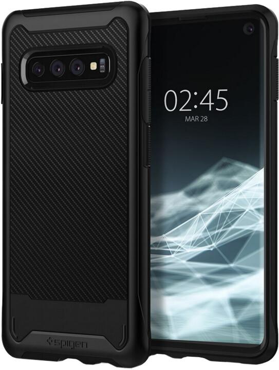 Spigen Hybrid NX Galaxy S10+, černá