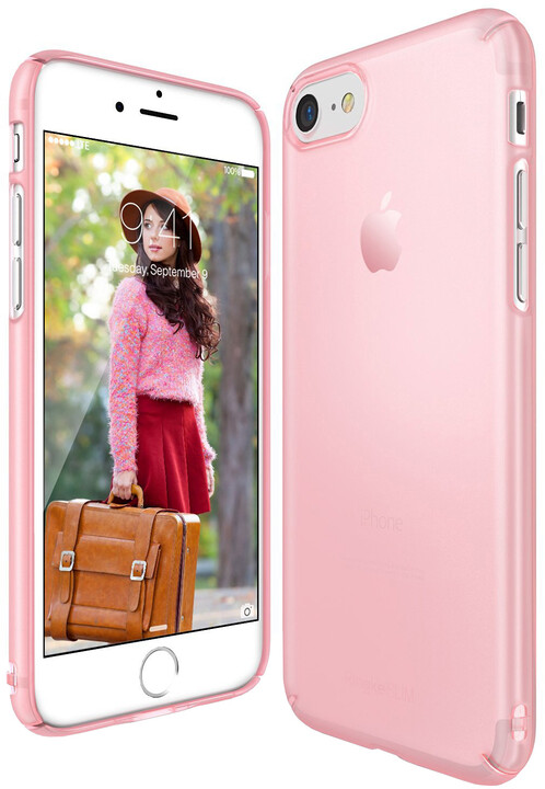Ringke Slim case pro iPhone 7, frost pink