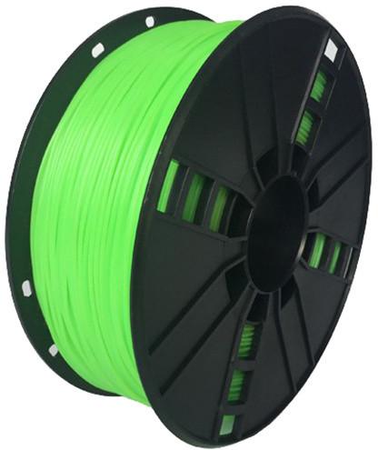 Gembird tisková struna (filament), flexibilní, 1,75mm, 1kg, zelená
