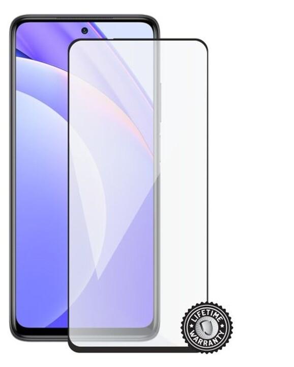 Screenshield temperované sklo pro Xiaomi Mi 10T Lite, Full Cover, černá