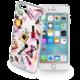 Cellularline STYLE průhledné gelové pouzdro pro Apple iPhone 6/6S, motiv GLAM