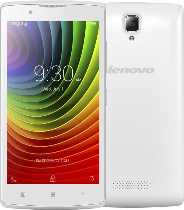 Lenovo A2010 - 8GB, LTE, bílá