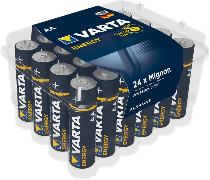 VARTA baterie Energy 24 AA (Clear Value Pack)