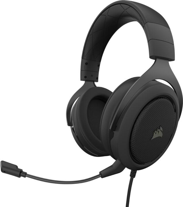 Corsair HS50 Pro Stereo, černá