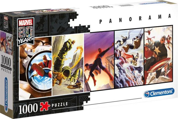 Puzzle Marvel - 80th Anniversary Panorama