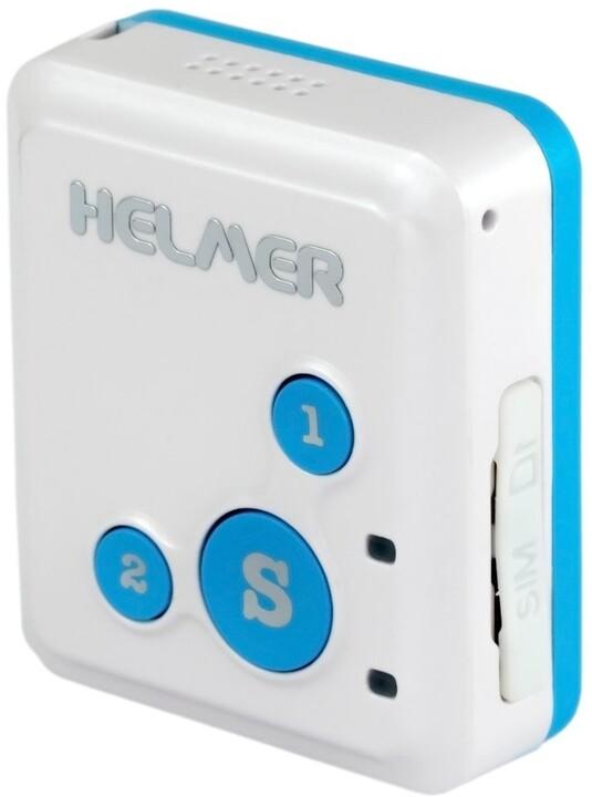 HELMER GPS lokátor LK 503 s obousměrnou komunikací pro sledování osob, zavazadel