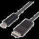 PremiumCord Převodník kabel 2m USB3.1 Typ C na DisplayPort, rozlišení 4K*2K@30Hz