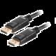 Akasa kabel DisplayPort - DisplayPort, M/M, 8K@60Hz, 2m, černá