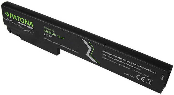 Patona baterie pro ntb HP EliteBook 8530 5200mAh Li-Ion 14,8V PREMIUM