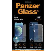PanzerGlass Bundle ochranné sklo Standard pro iPhone 12 mini + TPU zadní kryt - B2707