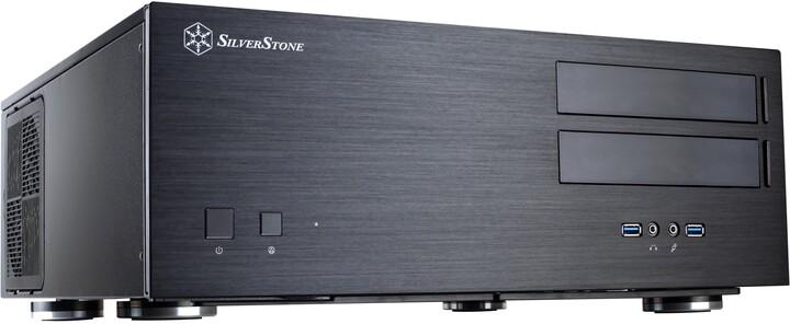 SilverStone GD08B Grandia, černá