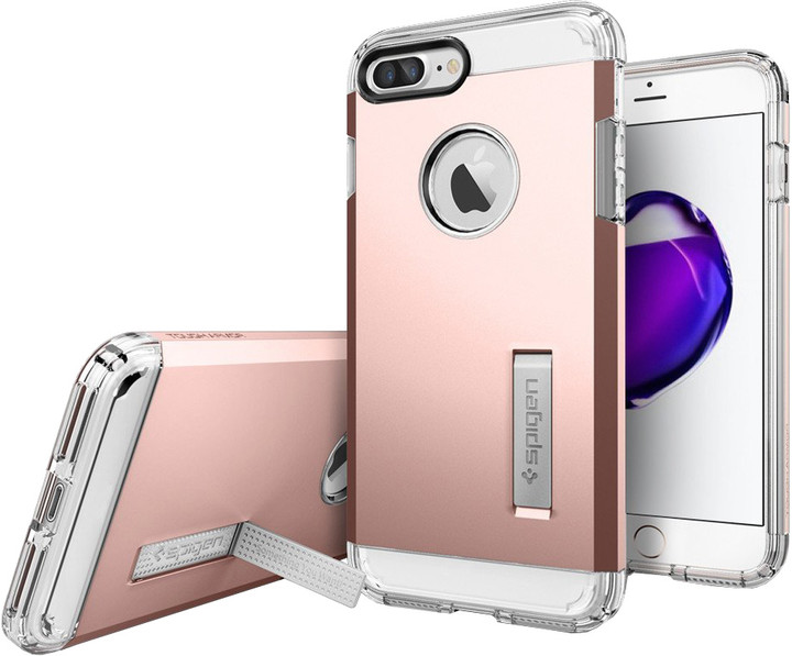 Spigen Tough Armor pro iPhone 7 Plus, rose gold