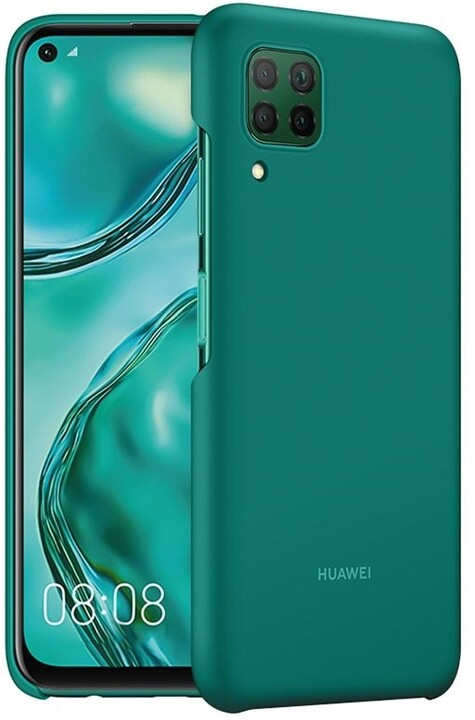 Huawei ochranné pouzdro Original PC Protective pro P40 Lite, smaragdová zelená