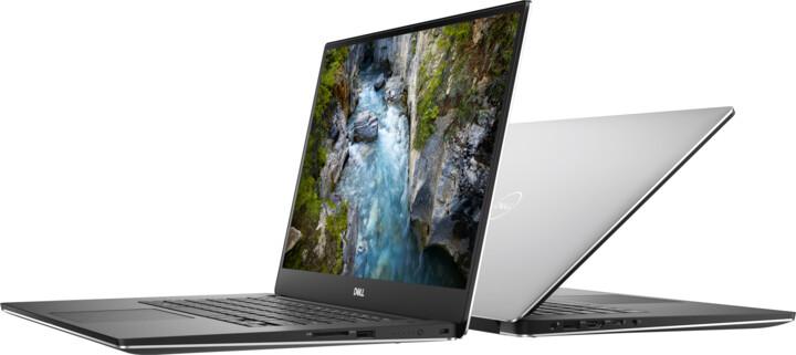 Dell XPS 15 (7590), stříbrná
