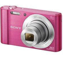 Sony Cybershot DSC-W810, růžová - DSCW810P.CE3