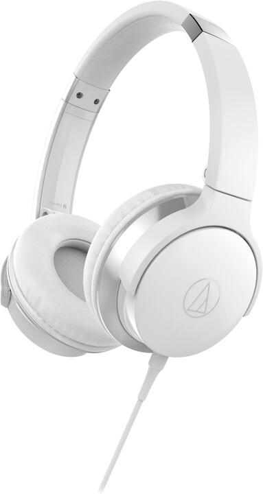 Audio-Technica ATH-AR3iS, bílá
