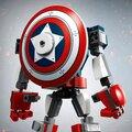 LEGO® Super Heroes 76168 Captain America v obrněném robotu