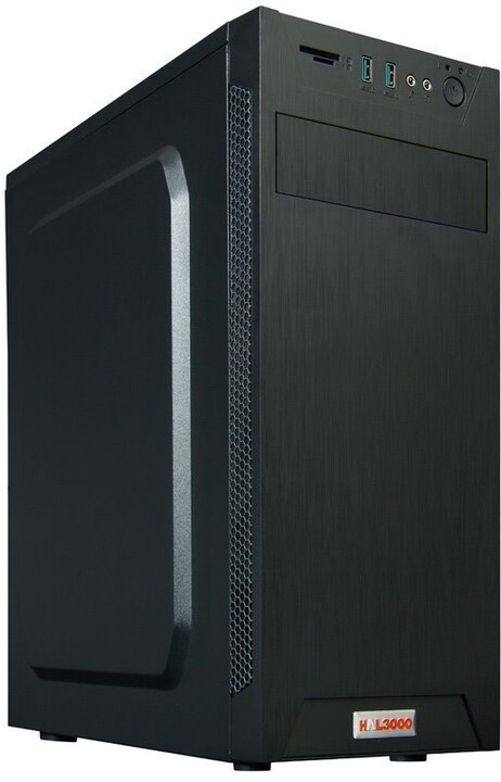 HAL3000 Enterprice Gamer AMD RX, černá