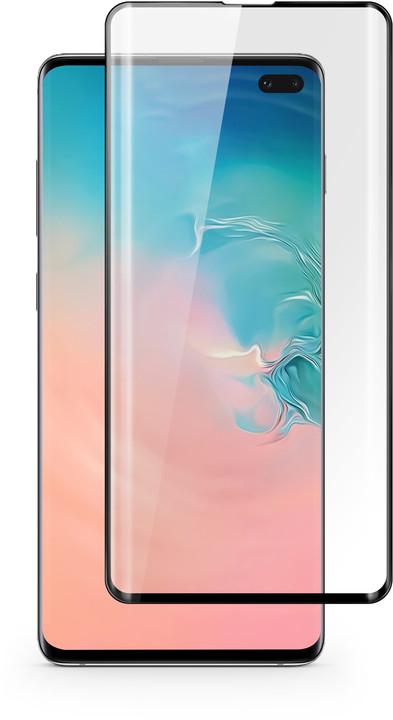 EPICO 3D+ GLASS Samsung Galaxy S10+, černá
