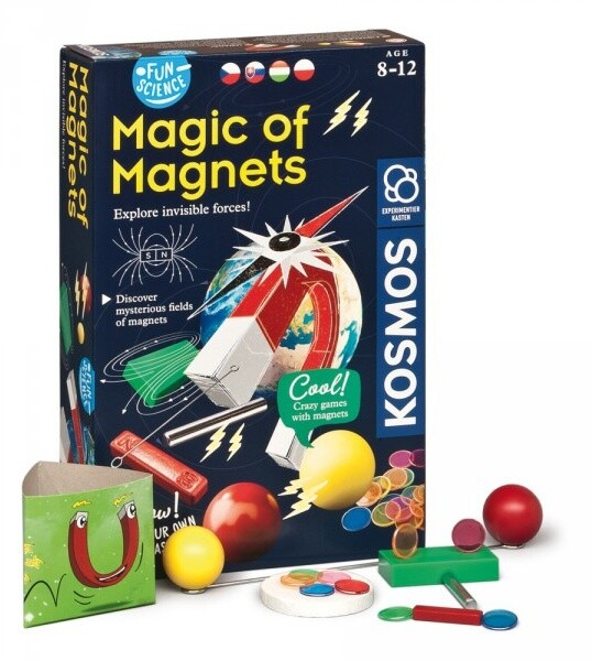 Interaktivní sada experimentů Kosmos Kouzlo magnetů (CZ)