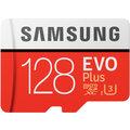 Samsung Micro SDXC EVO Plus 128GB UHS-I U3 + SD adaptér