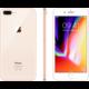 Apple iPhone 8 Plus, 256GB, zlatá