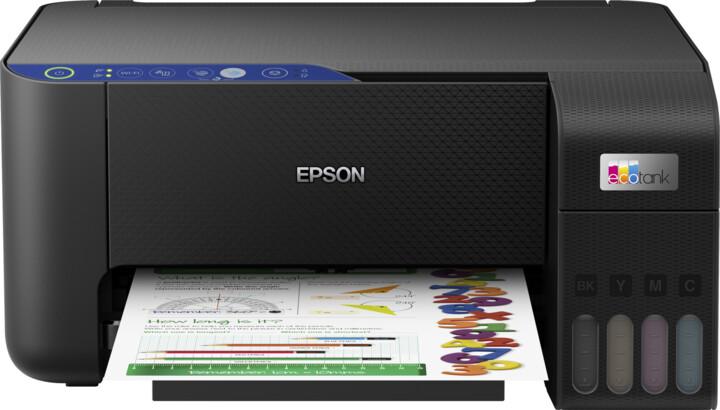Epson EcoTank L3251, tankový systém