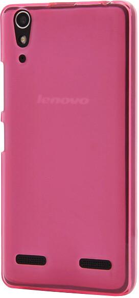 EPICO pružný plastový kryt pro Lenovo A6000 RONNY - růžový