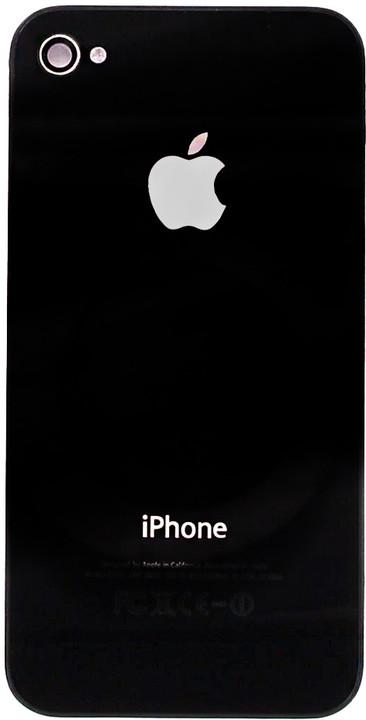 Apple iPhone 4 zadní kryt, černá