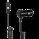 Scosche strikeDRIVE smart 12W ultrarychlá autonabíječka 12W (2,4A) s 2-v-1 konektorem